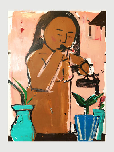 Monica Kim Garza, 'Watering of the plants', 2018