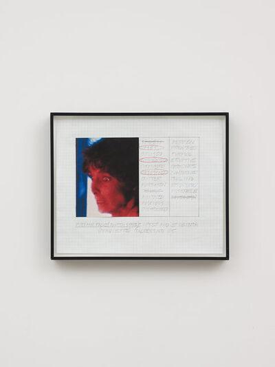 John Baldessari, 'Prima Facie (Fourth State): Upset and Et Cetera (Maquette)', 2005