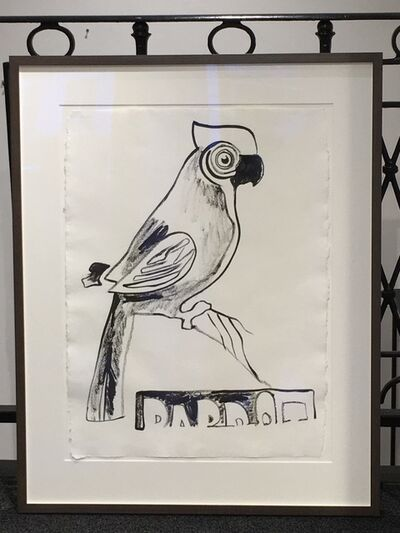 Andy Warhol, 'Parrot with Crest', 1983