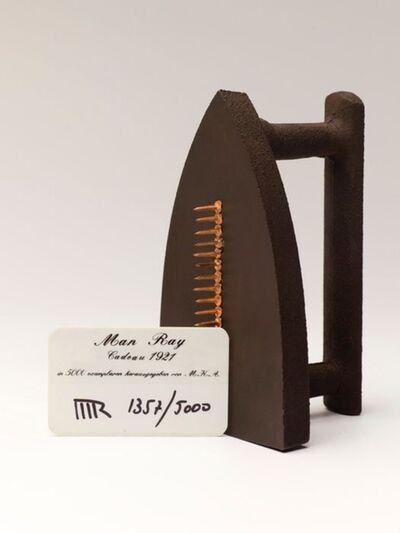 "Man Ray, 'Gift, 1921 (""Cadeau"")', 1974"