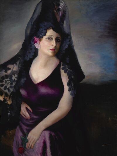 Wifredo Lam, 'Retrato de la Sra. García de Castro, I'