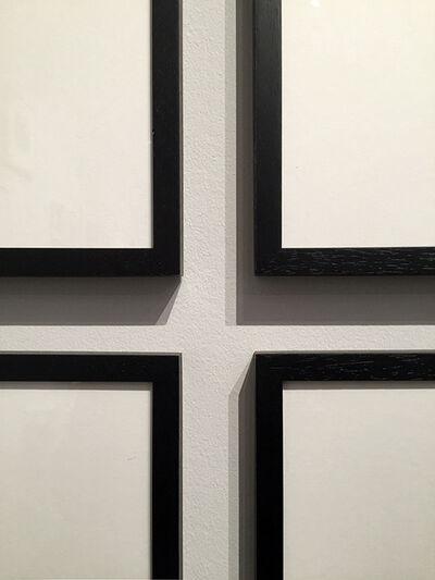 Ignasi Aballí, 'Between frames II', 2016