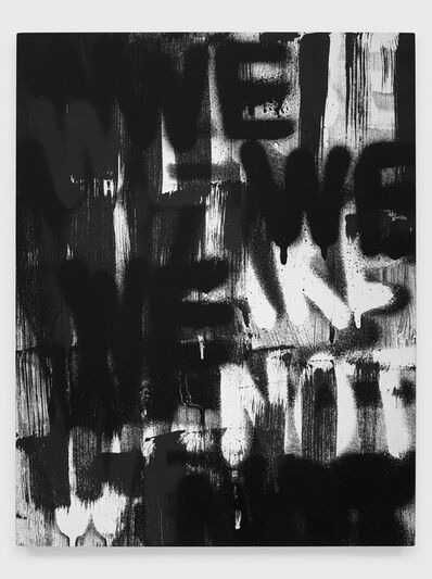 Adam Pendleton, 'Untitled (WE ARE NOT)', 2020