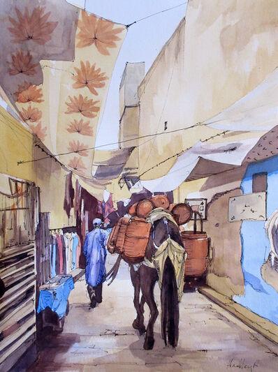 Hadley Rampton, 'Medina Traffic, Fez, Morocco', 2019