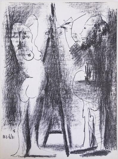 Pablo Picasso, 'Le Peintre et Son Modele', 1964