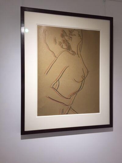 Andy Warhol, 'Love (Unique Gold) (FSII.310)', 1983