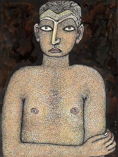 Jogen Chowdhury, 'Young Boy', 2014