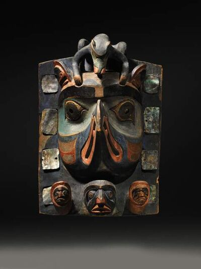 Unknown Artist, 'Headdress/Frontlet (Bella Coola, Northwest Coast)', ca. 1880