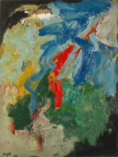 James Hiroshi Suzuki, 'March I', 1960
