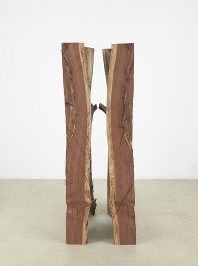Virginia Overton, 'Untitled (Quartered Cedar)', 2018