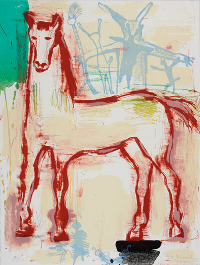 Jaune Quick-to-See Smith, 'Albuquerque', 1997