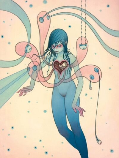 Tara McPherson, 'Ghosts of Love', 2017