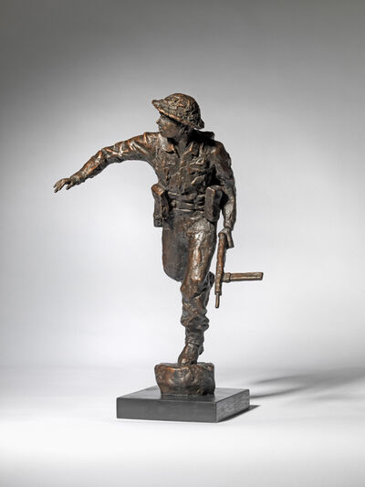 David Williams-Ellis, 'D-Day Soldier X', 2019