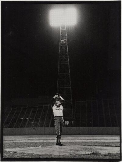 Osvaldo Salas, 'Fidel Castro, Pitching', 1965-printed in 1997