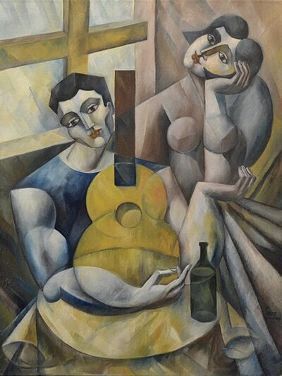 Yuroz, 'Music Between Lovers With Wine ', 2014