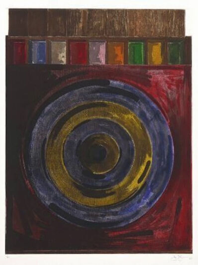 Jasper Johns, 'Target with Plaster Casts', 1979-80