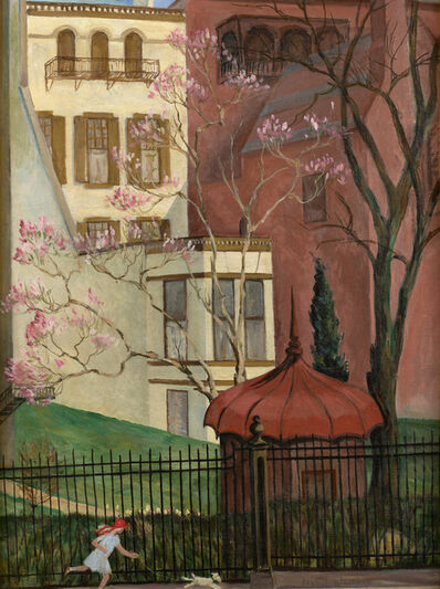 Isabel Lydia Whitney, 'Spring in Grace Court', ca. 1928
