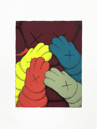 KAWS, 'PRINT 4 FROM URGE PORTFOLIO', 2020