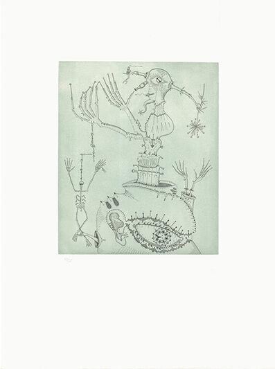 Joan Ponç, 'Homenaje a Bruhegel (sic!)', 1973
