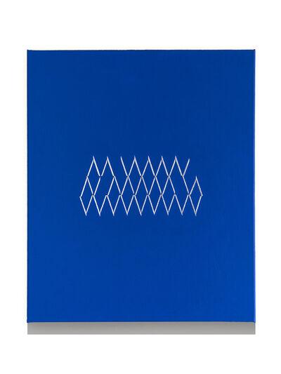 Isaac Chong Wai, '48 lines in aluminium', 2018