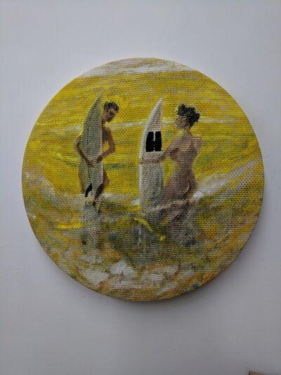 Nicholas Cueva, 'Yellow', 2018
