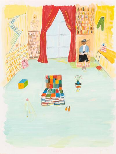 Maira Kalman, 'Barnes and Noble - Back Cover', 1995