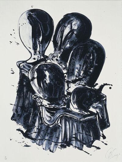 """Tony Cragg, 'Administered Landscape (from the portfolio """"Für die Pinakothek der Moderne"""")', 1994"""