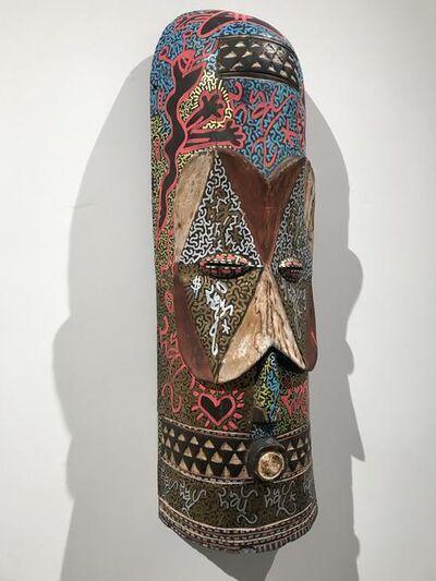 LA2, 'Untitled(Mask)', 2000