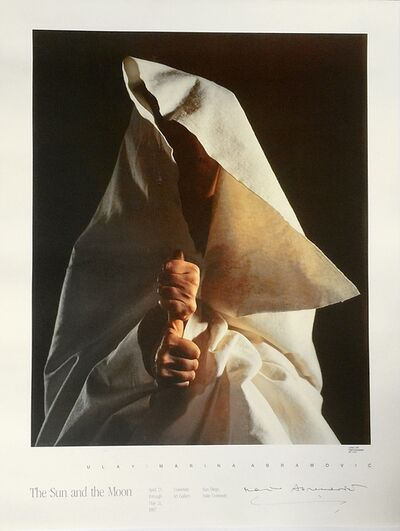 Marina Abramović, 'Sun and the Moon (Hand Signed)', 1987