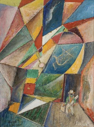 David Burliuk, 'Overtime Work', ca. c. 1910