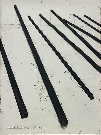 Bernar Venet, 'Lignes droites / Obliques', 1996