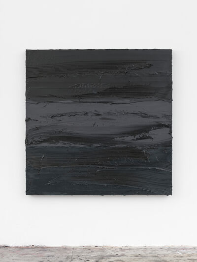 Jason Martin, 'Untitled (Lamp Black / Graphite Grey / Prussian Blue)', 2018