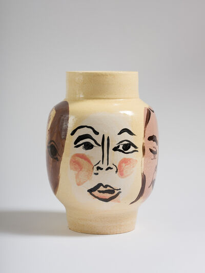 Amy Bessone, 'Face Vase', 2020