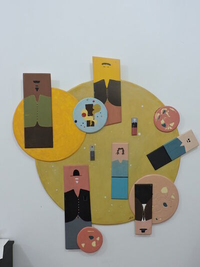 Haroldo Grossi, 'The World and Us', 2009