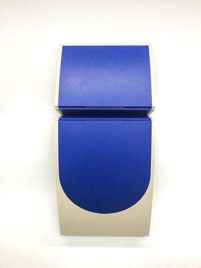 Robert William Moreland, 'Untitled Blue Curve II', 2019