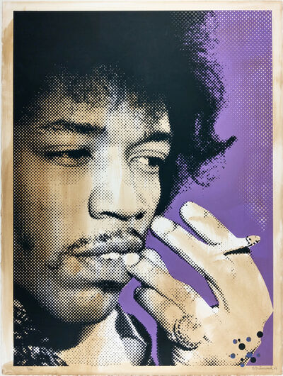 Mr. Brainwash, 'Jimi Hendrix', 2007