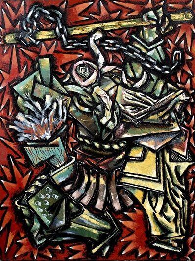 """Miroslav Pomichal, '""""Bluebeard's Ghastle""""', 2017"""