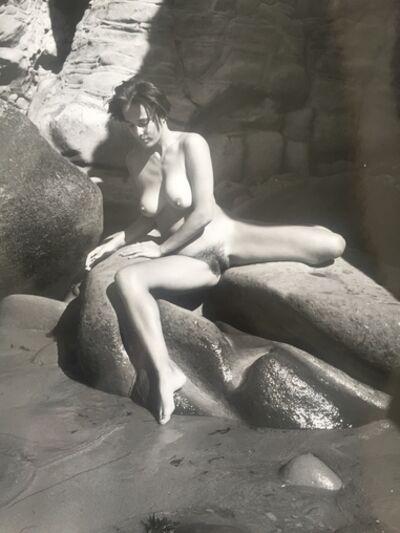 André de Dienes, 'Nu au rocher', 1960
