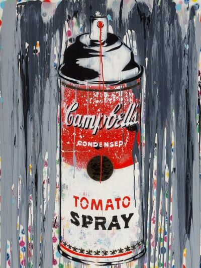 Mr. Brainwash, 'Campbell's Tomato Spray', 2010