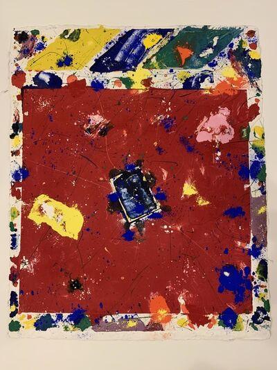 Sam Francis, 'Red sulfer', 1980