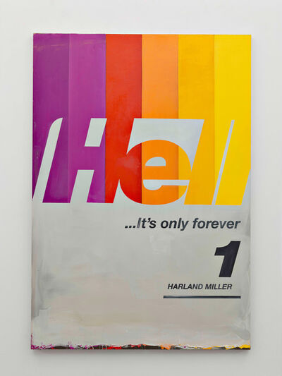 Harland Miller, 'Hell Its Only For Ever', 2016