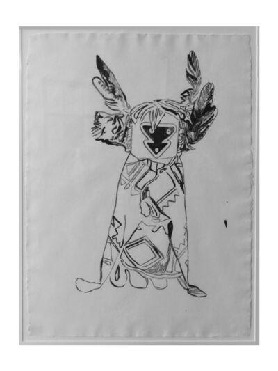 Andy Warhol, 'Kachina Doll', 1986