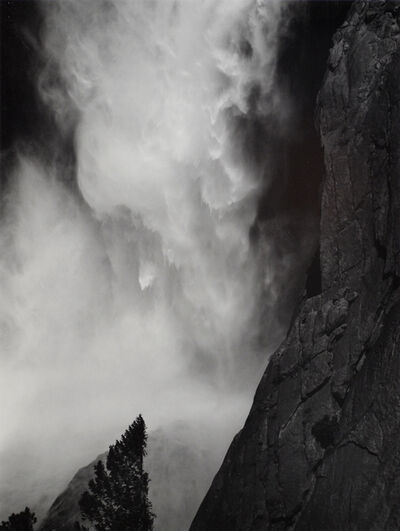 Ansel Adams, 'Base of Upper Yosemite Fall, Yosemite National Park', c. 1950-printed c. 1970s