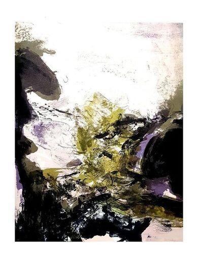 "Zao Wou-Ki 趙無極, 'Original Lithograph ""Abstract Composition"" by Zao Wou-ki', 1971"