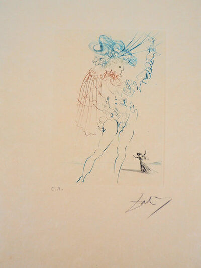 "Salvador Dalí, 'Shakespeare ""Measure for Measure""', 20th Century"