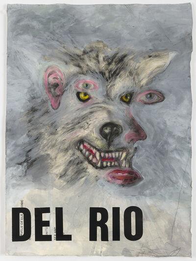 Terry Allen, 'Wolfman of del Rio (MemWars)'