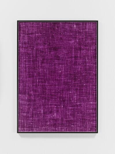 Lisa Oppenheim, 'Remnant (Linen, Version II)', 2017