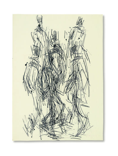 William Turnbull, 'Walking Figures', 1953