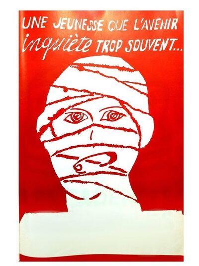 "UNKNOW, 'Original French Poster of Mai 68 ""Futur""', 1968"
