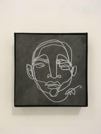 Martin Tardy, 'Head (stone)', 2020